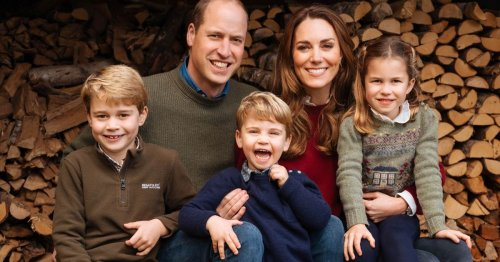 William and Kate tuck into burgers at pub lunch with George, Charlotte and Louis