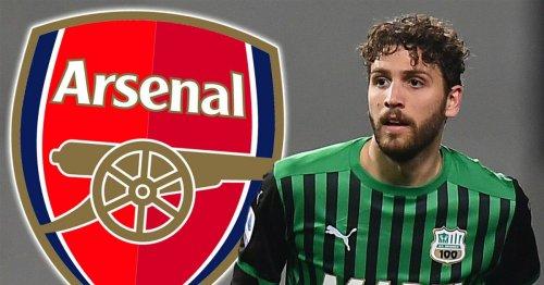 Sassuolo CEO confirms Arsenal have made a transfer bid for Manuel Locatelli