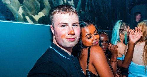 Nightclub photo goes viral after people spot tell-tale marks on man's face