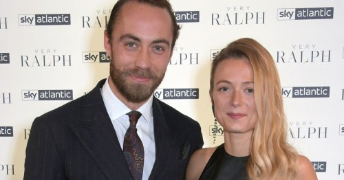 James Middleton's bride wore his mum's wedding dress after lockdown discovery