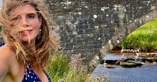 Our Yorkshire Farm's Amanda Owen's wild swimming sparks concern over 'red water'