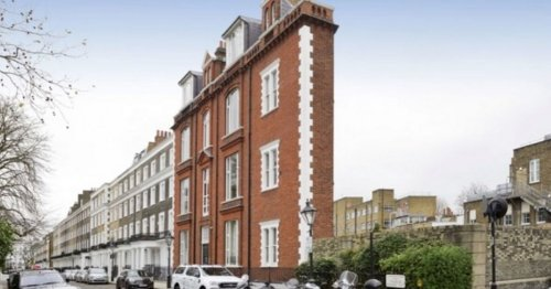 Incredibly narrow London house that's just 13-foot wide is up for sale for £800K