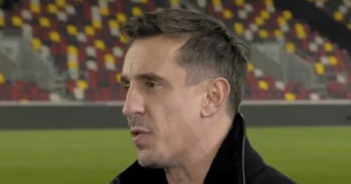 Gary Neville mocked by Jamie Carragher after making Man Utd U-turn