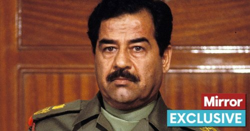 Outrage as Saddam Hussein's chemical weapons expert on UK streets for a decade
