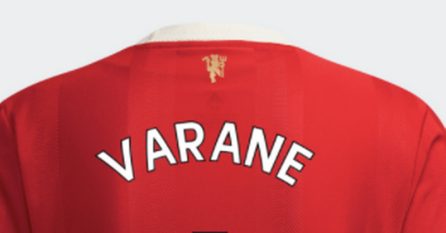 Varane could take dream Man Utd shirt number after ruthless decision