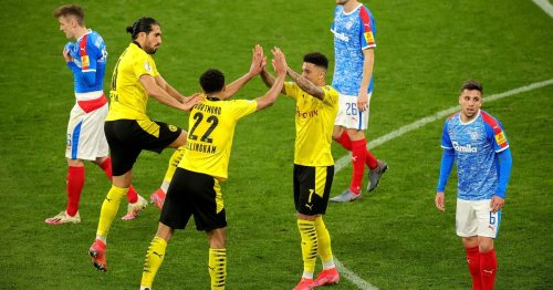 Man Utd get glimpse of what they're missing as Borussia Dortmund run riot