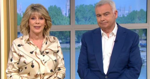 Ruth Langsford and Eamonn Holmes say they met on 'street corner'