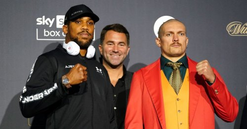 What time is Anthony Joshua vs Oleksandr Usyk? Fight start time and ring walks