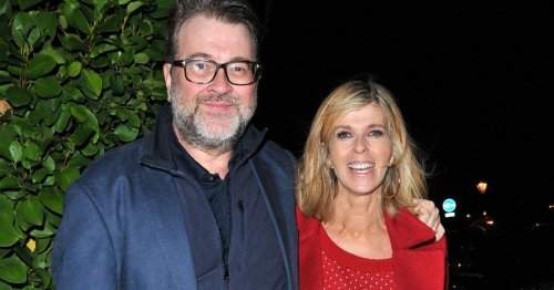 Kate Garraway 'lucky husband Derek is here' as she gives update on his condition