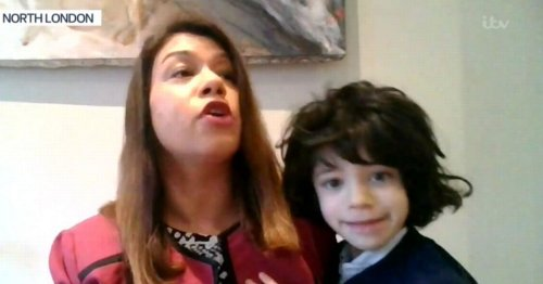 Good Morning Britain interview with MP Tulip Siddiq interrupted by daughter