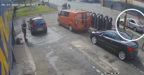 CCTV shows moments before law student, 19, was gunned down in drive-by shooting