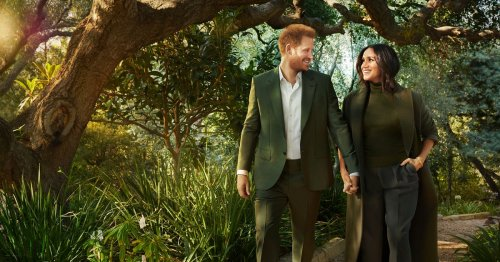 Harry and Meghan's 'signature pose' in photo slammed as 'unnatural and staged'