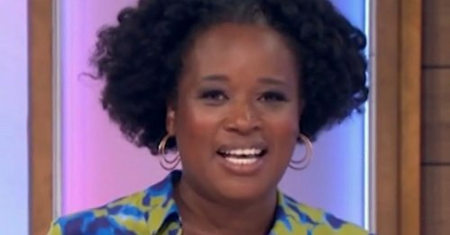 Charlene White birthday 'surprise' spoiled by Loose Women autocue blunder