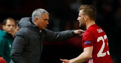 Luke Shaw claims Man Utd teammates agreed with him over Jose Mourinho feud