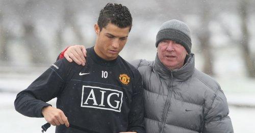 Sir Alex Ferguson's Man Utd training ground admission sums up Cristiano Ronaldo