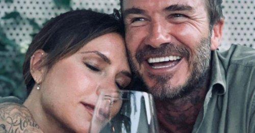 Victoria Beckham jokes about David's 'chocolate balls' in saucy Instagram post