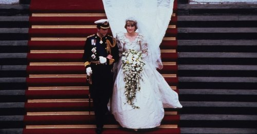 Story of Diana's wedding dress - record train, backup gown and creator's horror