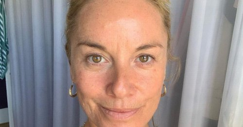 Tamzin Outhwaite wants to bin the booze as she calls it a 'hindrance'