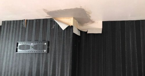 Couple say flat with 'collapsing ceiling and rats' should be knocked down