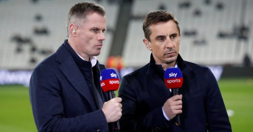 Neville being proved right in fiery Ronaldo debate with Jamie Carragher