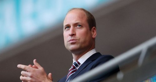 """Prince William's """"incredible moment"""" in England dressing room after Euro final"""