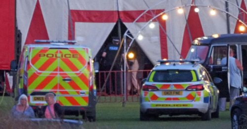 Female trapeze artist plunges 16ft in horrifying fall in front of circus crowd