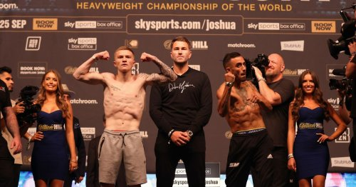 Joshua vs Usyk undercard features Campbell Hatton and world title fight