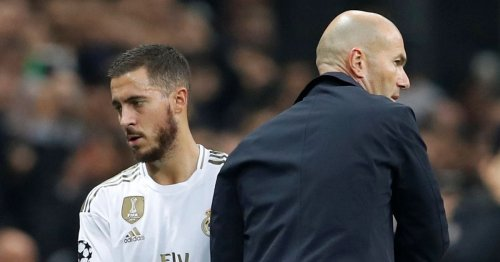 Zinedine Zidane sends Eden Hazard transfer message amid Real Madrid fury