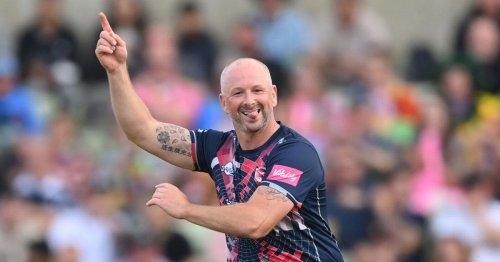 "Darren Stevens, 45, called ""Benjamin Button of cricket"" after Finals Day display"