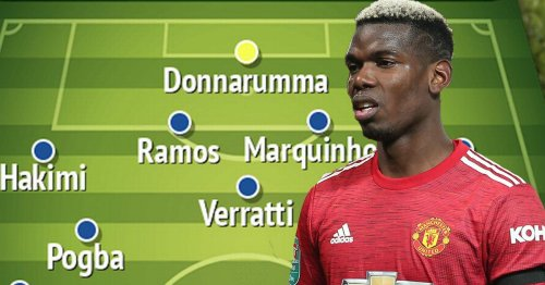 PSG's Champions League-winning XI if Pogba completes huge transfer from Man Utd