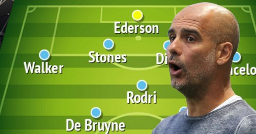Man City's likely line-up on first day with £250m signings Grealish and Kane