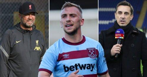 Neville and Klopp agree on Jarrod Bowen amid Liverpool transfer interest