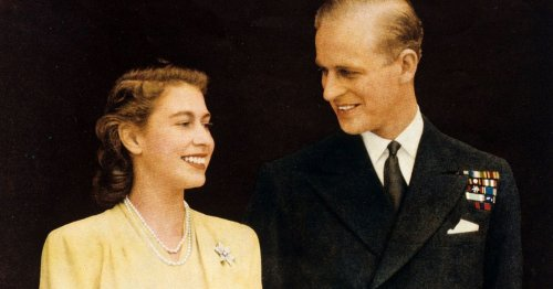 Prince Philip's life in pictures, from dashing young man to nation's grandfather