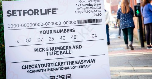 Mystery lottery winner urged to claim £10K-a-month prize before it's too late