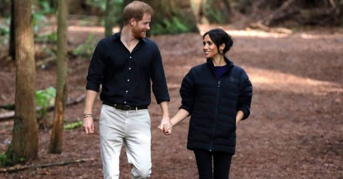 Meghan Markle stunned Prince Harry by 'happily peeing in woods' on first holiday