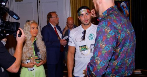 Molly-Mae Hague and Tyson Fury's awkward first meeting and grovelling apology
