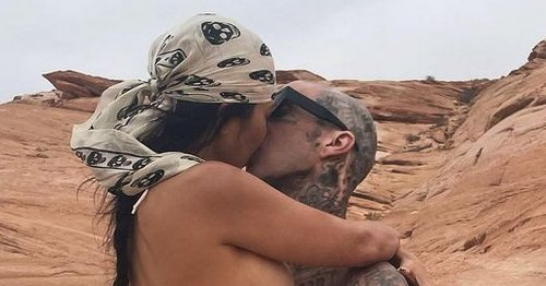 Kourtney and Travis Barker's sizzling PDA shows they're 'magnetic and hot'