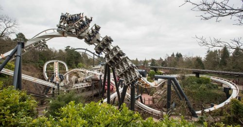 Alton Towers forced to close ride after 'object' seen falling from rollercoaster