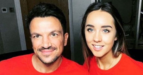 Peter Andre's wife urges regular breast checks after Sarah Harding's death