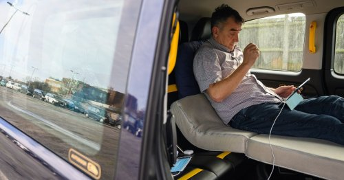 Heathrow cabbies forced to live in taxis and set up 24-hour queue 'shanty towns'