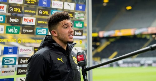 Sancho offers update on Dortmund future amid 'gentleman's agreement' claim