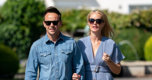 Ant McPartlin and Anne-Marie step out in matching denim as they prepare to wed