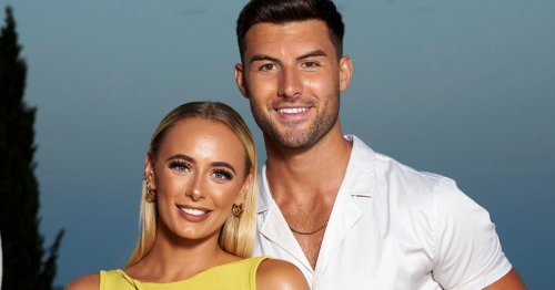 Love Island winners Millie and Liam get cosy during romantic hot tub date