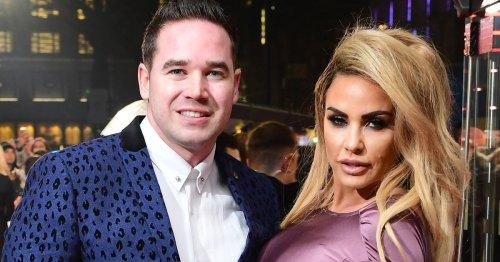 Katie Price still married to Kieran Hayler despite announcing divorce