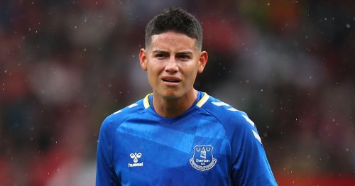 Rodriguez set to end Benitez feud as Everton star 'in talks' with new club