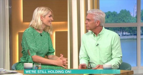 Phillip Schofield recalls emotional meet up as he reunited with mum after a year