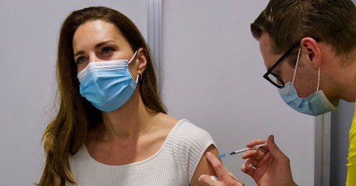 Kate Middleton 'hugely grateful' after getting first dose of coronavirus vaccine