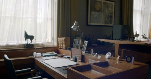 Inside Prince Philip's office - incredible gadgets and touching tribute to Queen