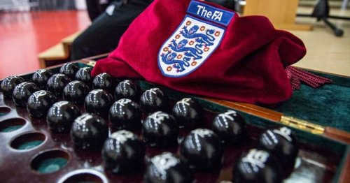 FA Cup first round draw live as League One and League Two teams join competition