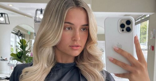 Molly-Mae Hague shows off glossy extensions after ditching natural hair